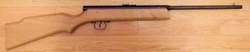 Bill Lipscomb's (Wiliam           Lipscomb's) air rifle